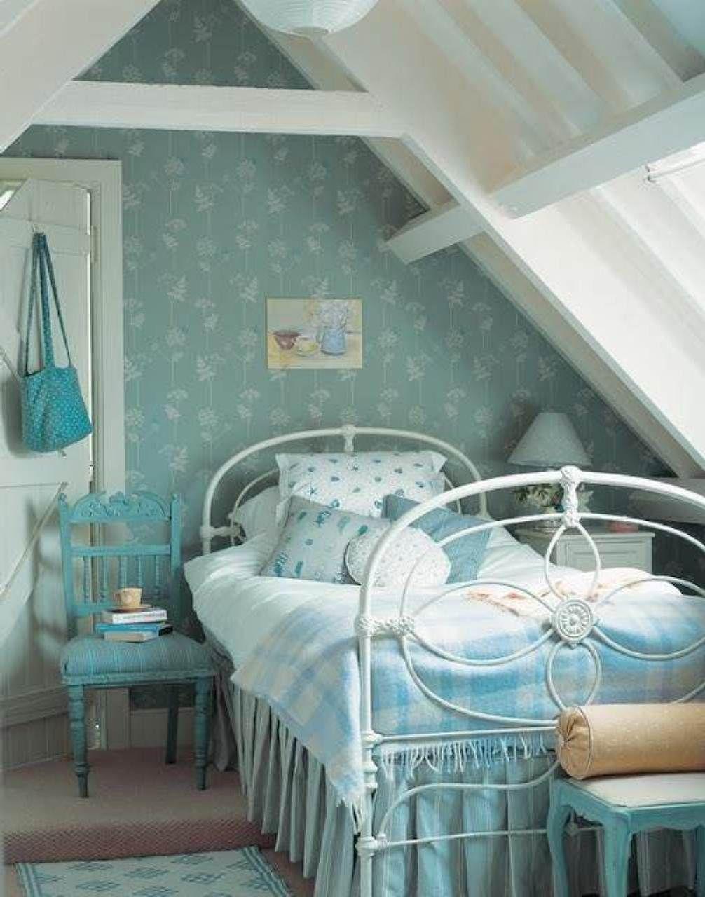 Girls Attic Bedroom  Good Teen Girl Attic Room Ideas -1937