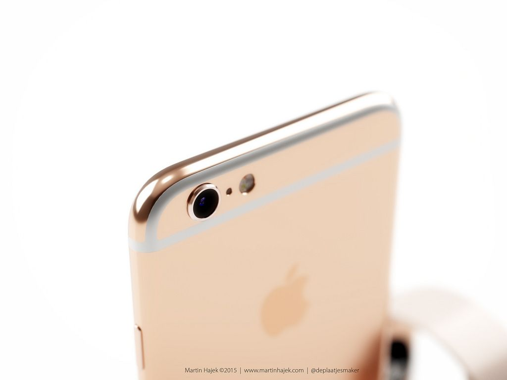 Concepto del iPhone 6s color oro rosado que combina con el Apple Watch Edition - http://www.esmandau.com/171157/concepto-del-iphone-6s-color-oro-rosado-que-combina-con-el-apple-watch-edition/#pinterest