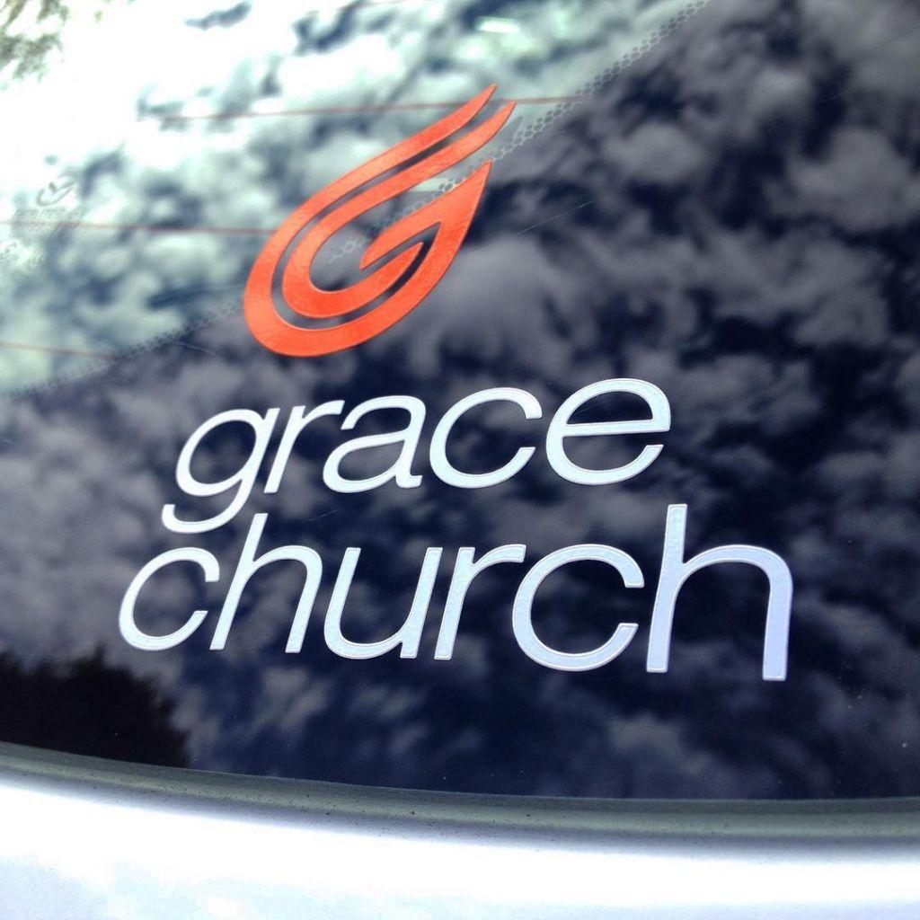 Grace Church Custom Vinyl Cut Decals Made By Websticker Stickers - Custom vinyl cut decals