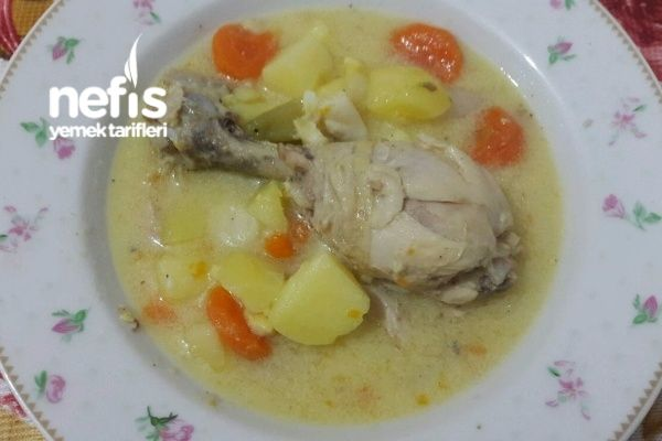 Photo of Boiled Chicken with Vegetables (Seasoned) – Delicious Recipes