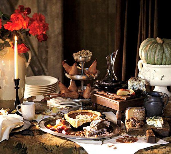 12 Stylish Thanksgiving Table Setting Ideas & 12 Stylish Thanksgiving Table Setting Ideas   Decorating with Style ...