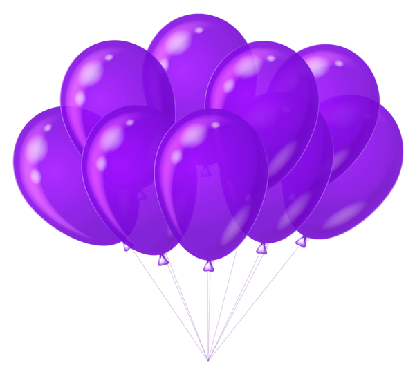 Transparent Purple Balloons Clipart Purple Balloons Balloon Clipart Balloon Pictures