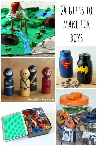 Boy Toys Packaging : Gifts to make for boys pastries things and
