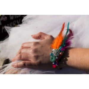 Bracelet jonc colors rock and roll