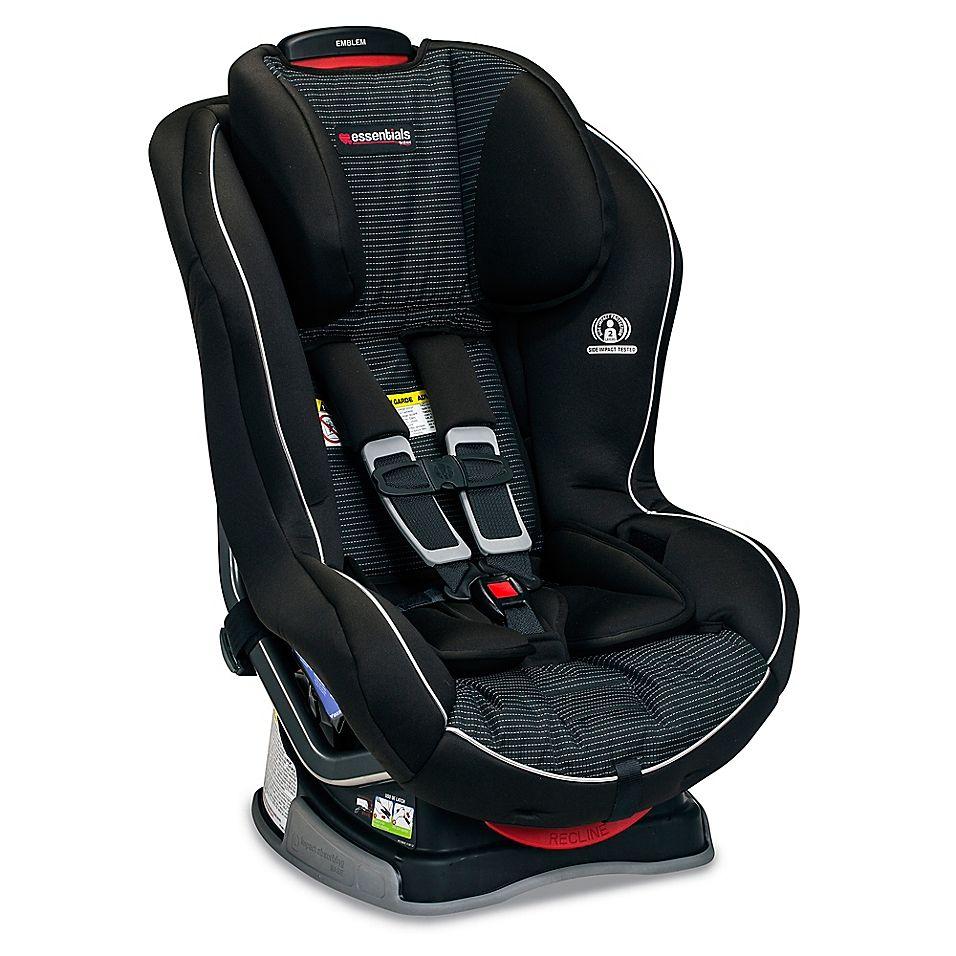 Essentials By Britax Emblem Convertible Car Seat In Dash