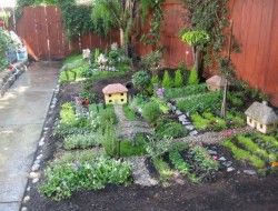 Why not turn over a corner of the yard to the kids to make a fairy village that they can tend, weed and renovate on a daily basis.
