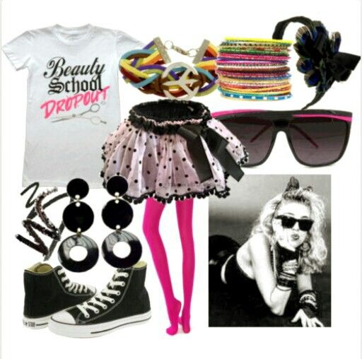 80s party outfits, 80s theme party