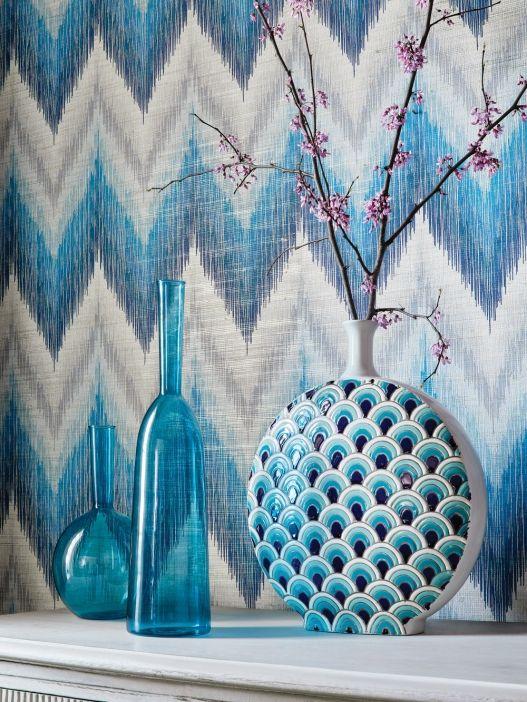 Thibaut Wallpapers Brick Wallpaper Living Room Grasscloth