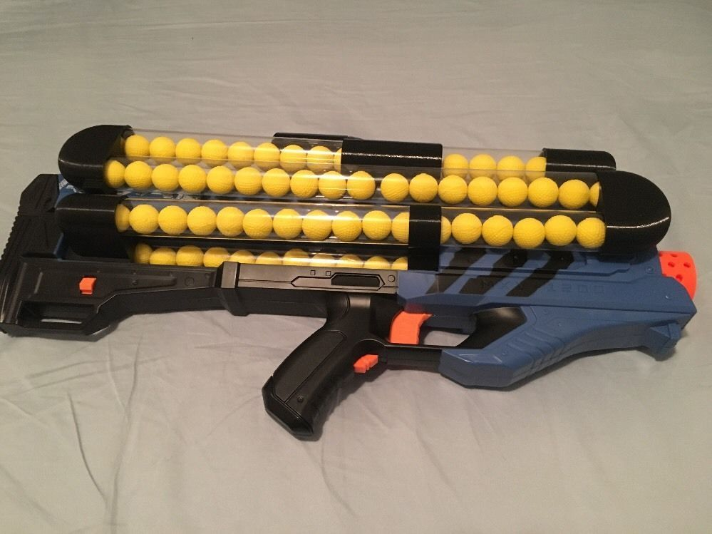 new nerf rival zeus hirricane blaster mod lipo team blue common shopping pinterest guns. Black Bedroom Furniture Sets. Home Design Ideas