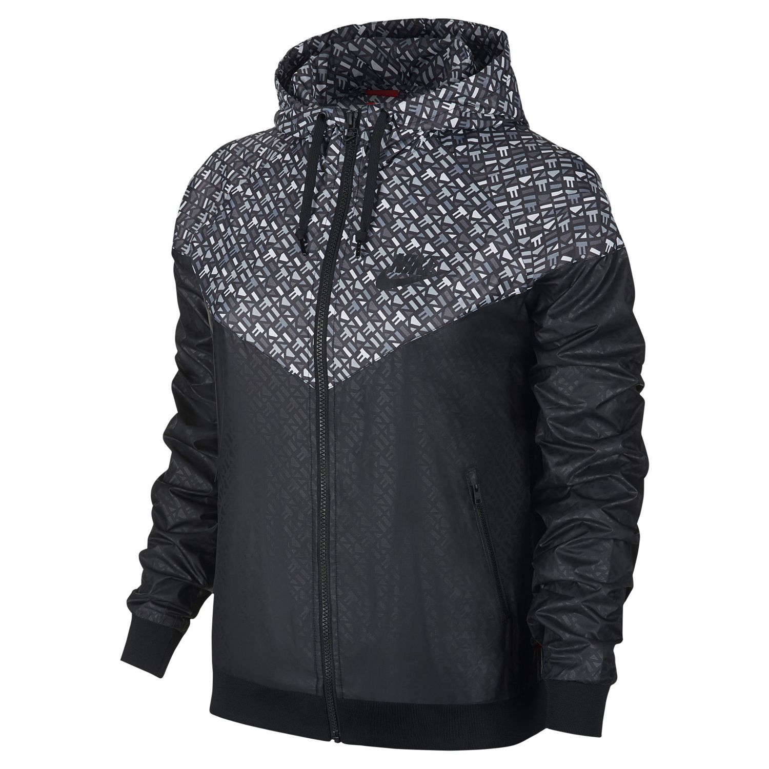 nike vapor jacket womens black and white nike