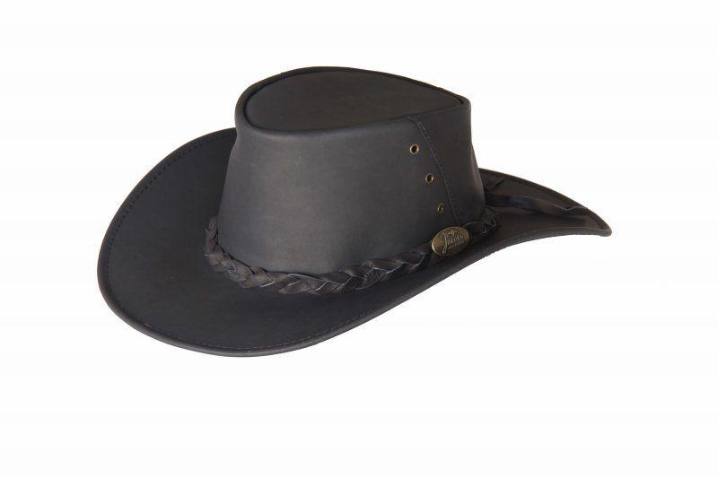 1001A Kangaroo 3pc Black. Kangaroo Leather Hat by Jacaru  Soft to touch Kangaroo  Leather bafac344821c