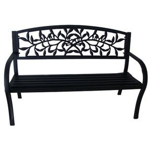 Patio Garden Metal Garden Benches Clearance Outdoor Furniture
