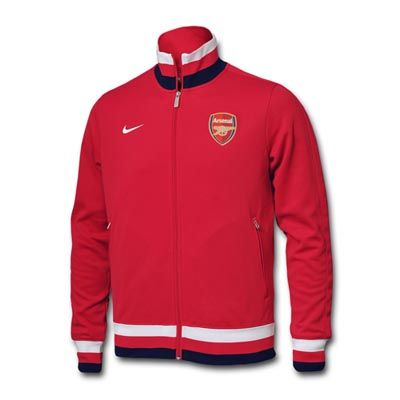 size 40 b87fc c5155 12/13 cheap Arsenal Red N98 Track Jacket | Soccer Jerseys ...