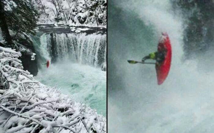 I adore kayaking. But... nope!