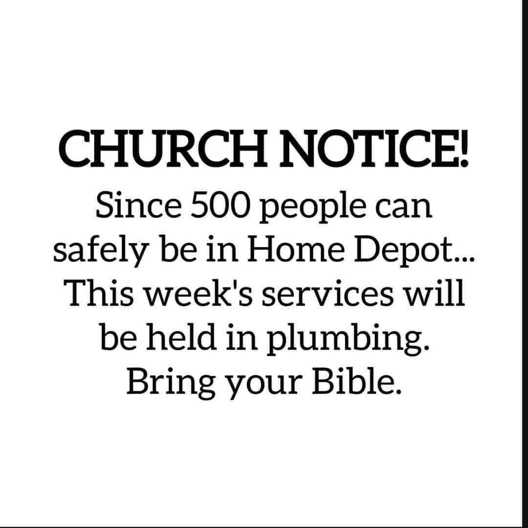 Church Notice In 2020 Sick Humor Haha Funny Funny Quotes