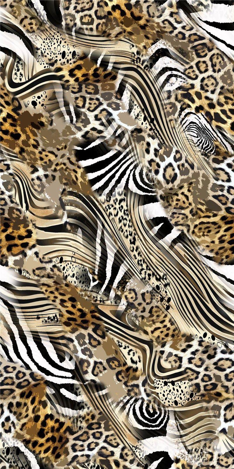 Digital Print Animal Skin Collage Design Patterns Studio Animal Print Wallpaper Collage Design Animal Prints Pattern