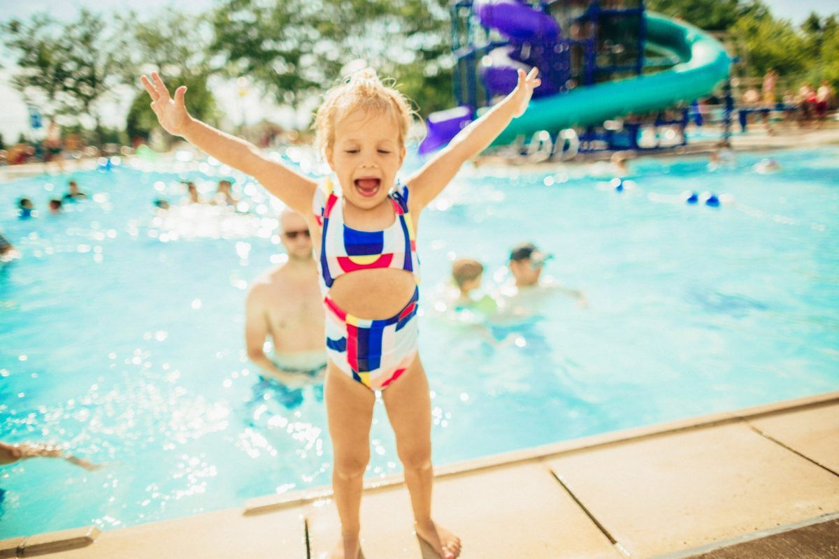 Cute Kids Swimsuits Little Girls Hair Styles Pool Party Inspiration Summer Activities For Kids Cute Hairstyles For Kids Toddler Girl Outfits Kid Swim Suits