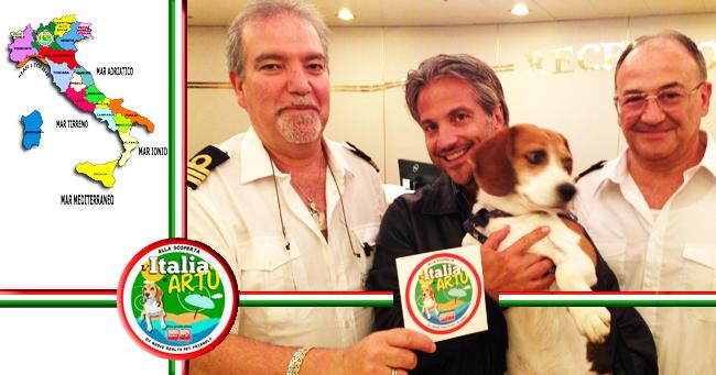 ITALIA DI ARTU 2014 - In viaggio con la Compagnia di Navigazione Tirrenia