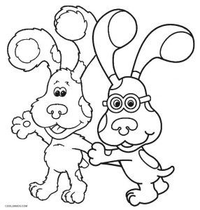Free Printable Blues Clues Coloring Pages For Kids Cool2bkids Cartoon Coloring Pages Baby Coloring Pages Coloring Pages For Kids
