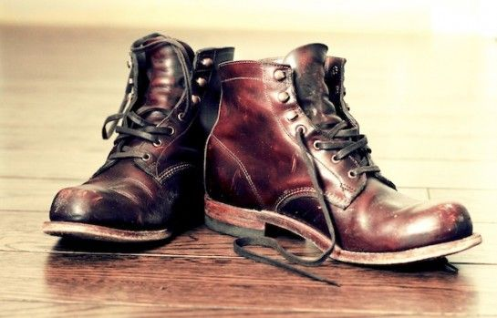 28bfbd9c7e5 Well worn Wolverine 1000 Mile Boots | Wardrobe Wants | Dress with ...