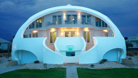 5 Of The World S Most Indestructible Homes Monolithic Dome Homes Dome House Dome Home