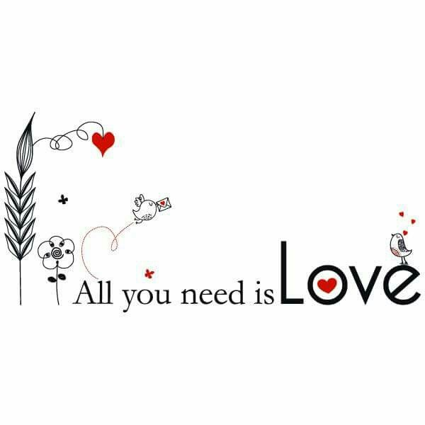 Love Is All You Need 3 Love Words All You Need Is Love Lettering