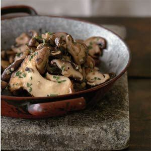 Garlicky Sauteed Mushrooms