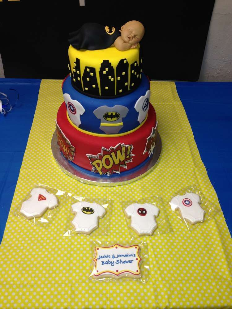Superhero Baby Shower Party Ideas | Photo 10 of 12