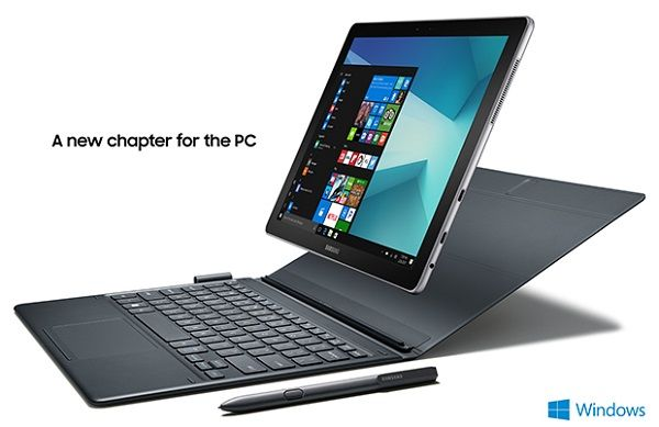 Mwc 2017 Samsung Announces Galaxy Book 10 6 And Galaxy Book 12 Tablets With 4g Lte S Pen And Windows 10 Specifications Galaxy Book Windows Tablet New Tablets