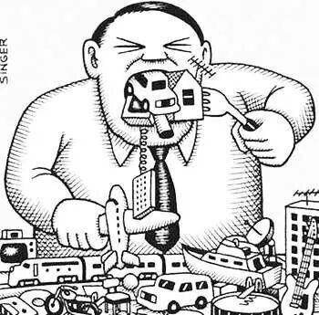 El consumismo te consume