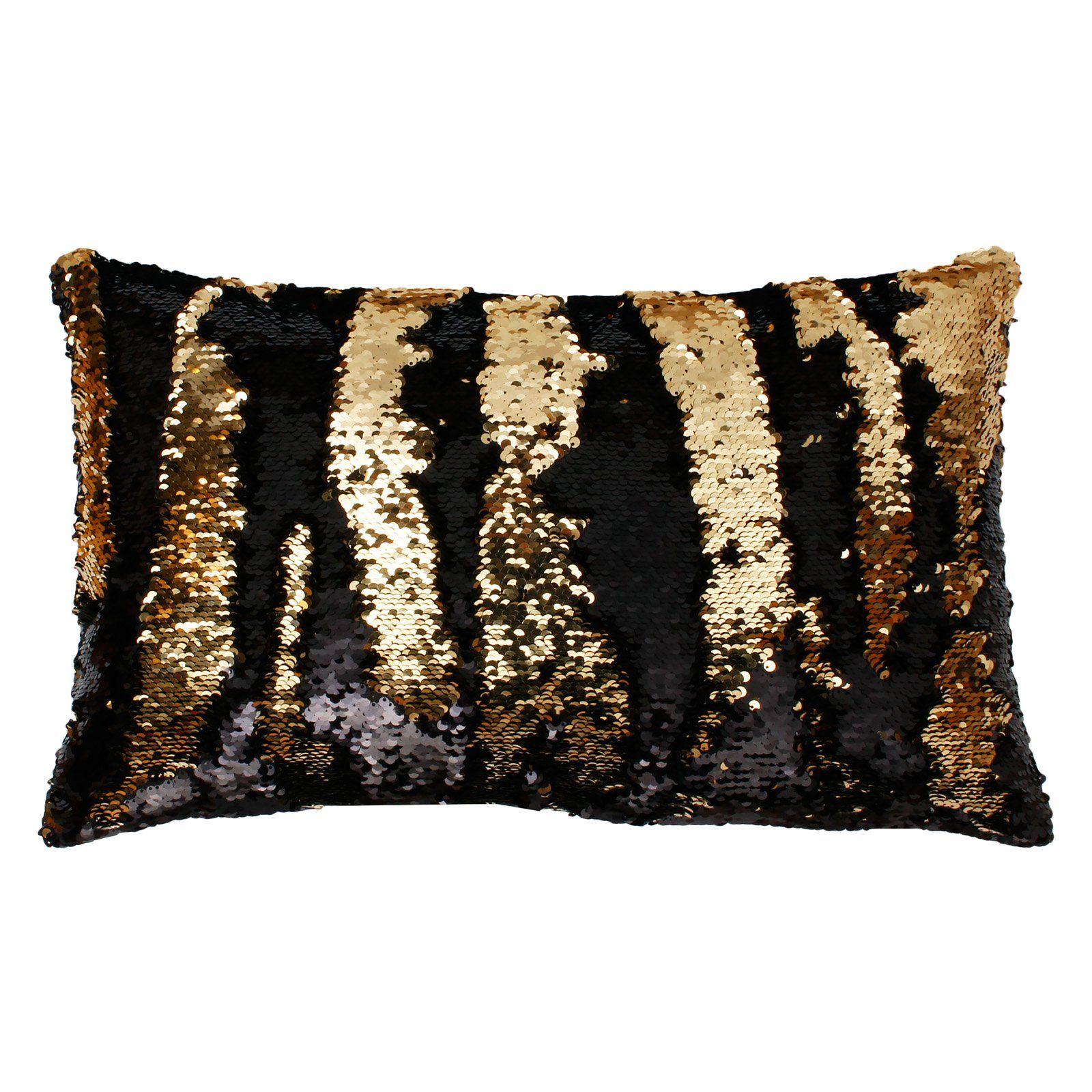 Thro Ltd Melody Mermaid Shiny Metallic Rectangle Decorative Pillow