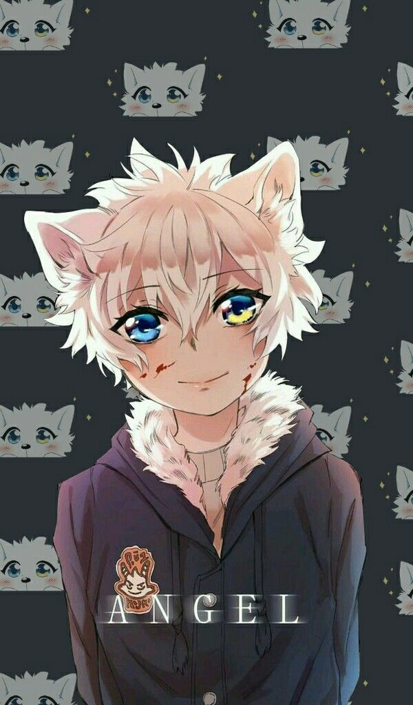 Lumine Wallpapet Lockscreen Anime Anime Boy Wolf Boy Anime