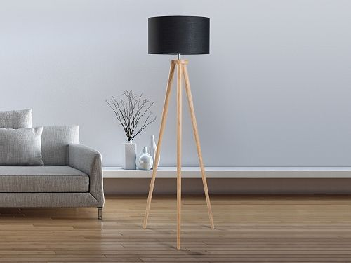 Lampadaire Noir A Trepied Nitra Floor Lamp Home Decor Tripod Lamp