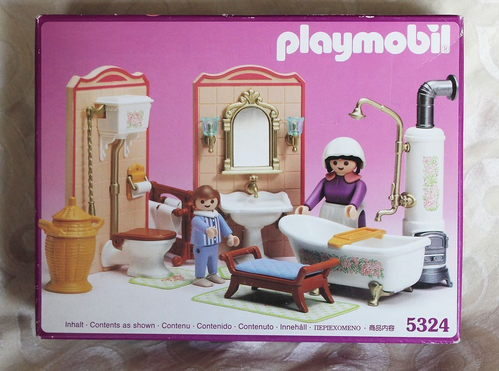 Badezimmer Playmobil ~ Playmobil vintage victorian mansion bathroom set new in