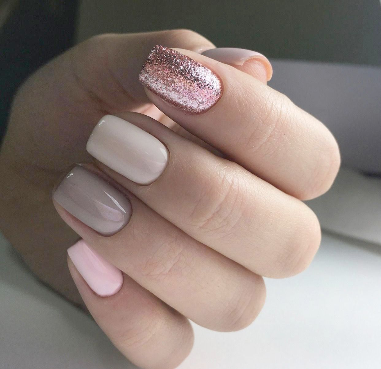 Pin On Neutral Color Nails