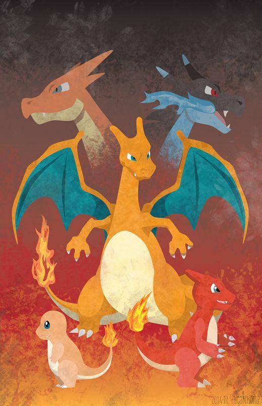 Best 25 Charmander Charmeleon Charizard Ideas On Pinterest Charmeleon Evolution Pokemon