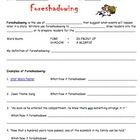 Foreshadowing Definition And Practice Worksheet Expository Writing Practices Worksheets Teaching Reading Theme, text structure, genre, irony, and more. foreshadowing definition and practice