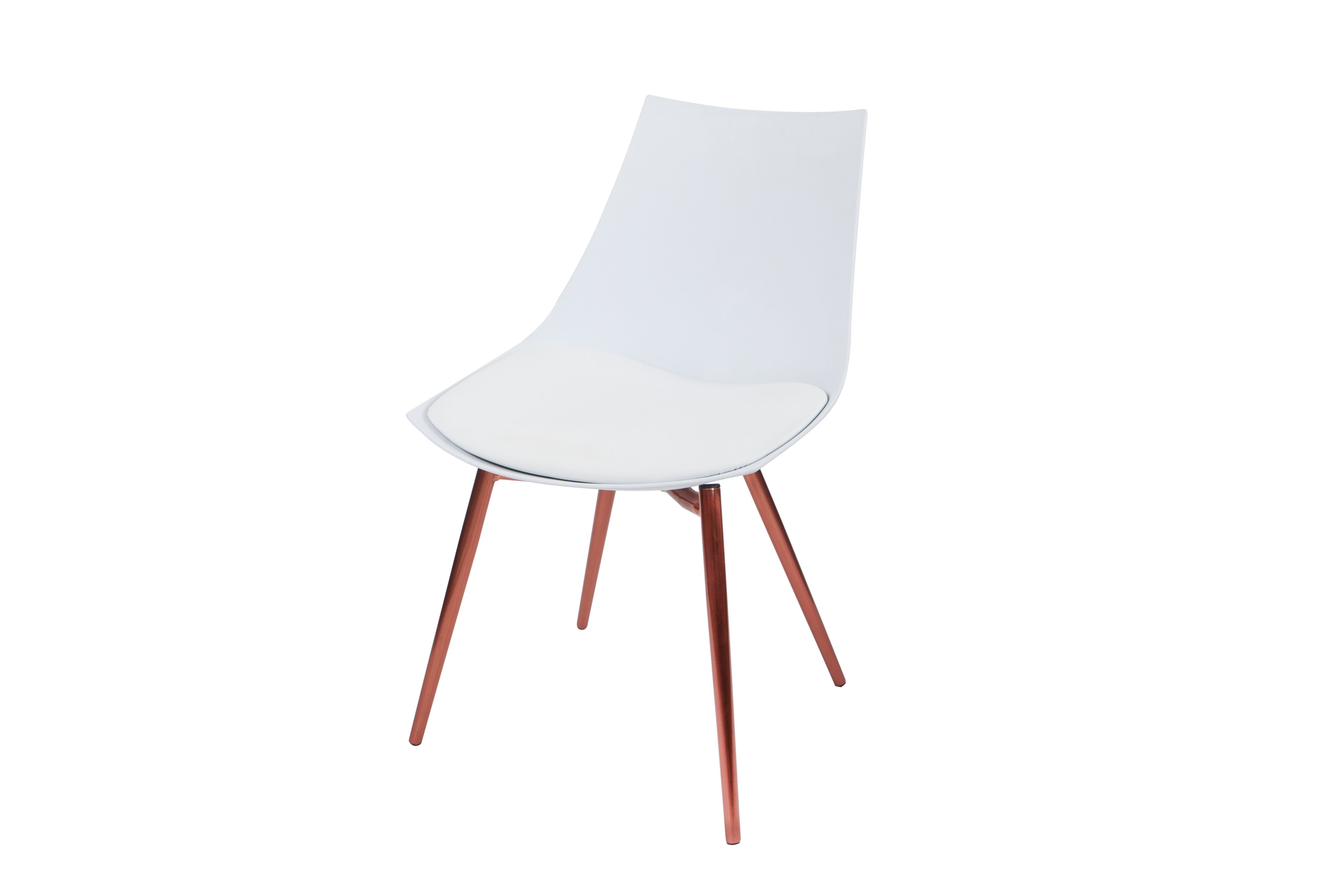 Stuhl Dakota 210 4er Set Weiss Kupfer Stuhle Online Mobel Esszimmerstuhl