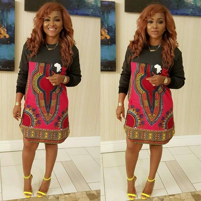 Mercy Aigbe Looking Hot In These Lovely Ankara Styles Ifashy