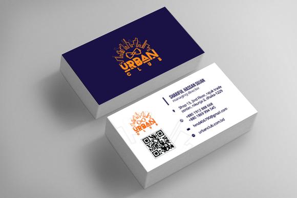 Urban Club Bangladesh Business Card Mockup Business Card Mock Up Branding Design Logo Branding Design