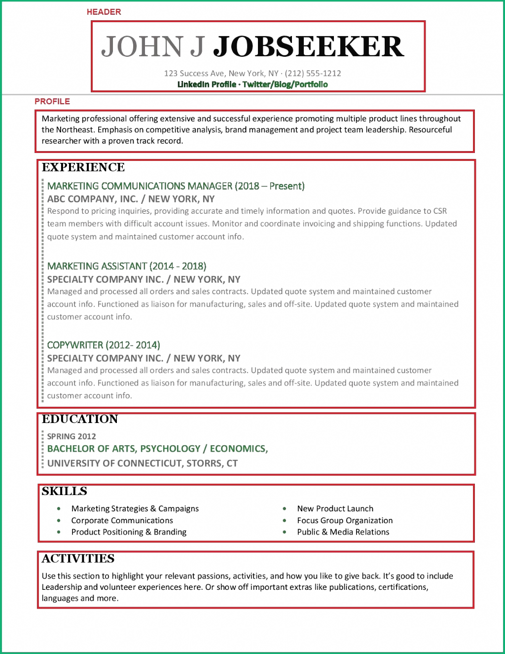 pin on templates profile objective for resume examples cv docx digital marketing sample pdf