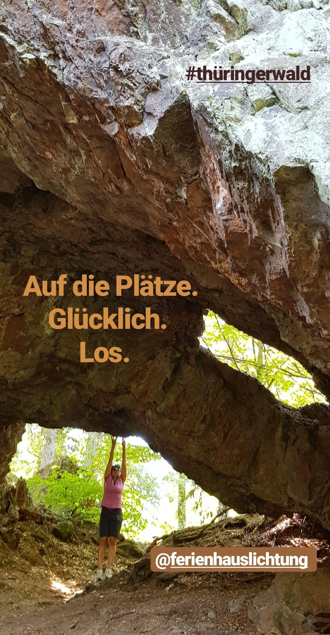 Felsen Märchenwelt Urlaub thüringer wald, Thüringer wald