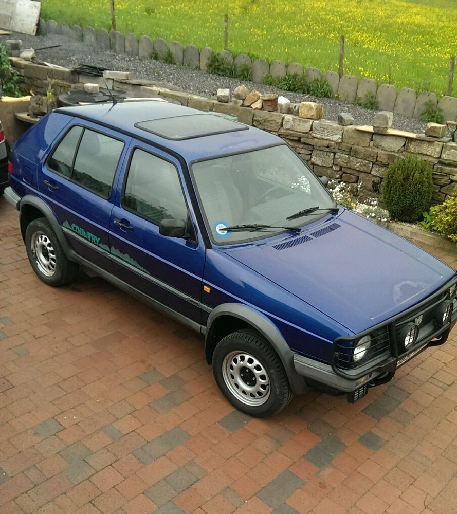 volkswagen mk2 golf country syncro 4x4 off roader gti g60. Black Bedroom Furniture Sets. Home Design Ideas