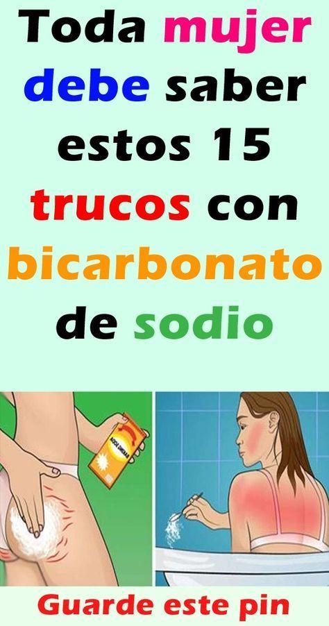 Toda Mujer Debe Saber Estos 15 Trucos Con Bicarbonato De Sodio