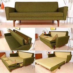 Vintage Sofa Bed. Modern Sleeper ...