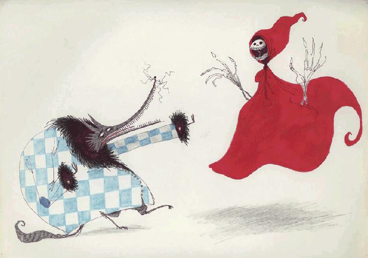 Little Dead Ridinghood - Tim Burton