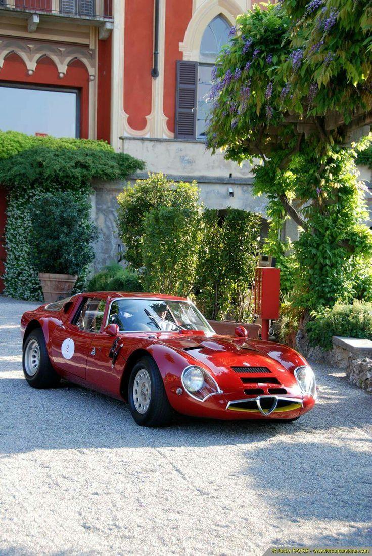 1965 Alfa Romeo TZ2..Re-Pin … Mit freundlicher Genehmigung von #CarInsurance bei #HouseofIn…