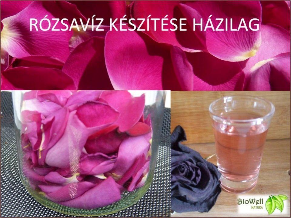 Rózsavíz készítése házilag