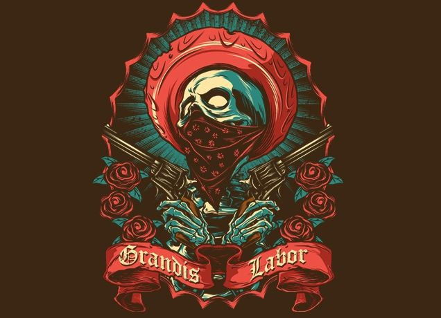 """Grandis Labor II"" - Threadless.com - Best t-shirts in the world $9.90"