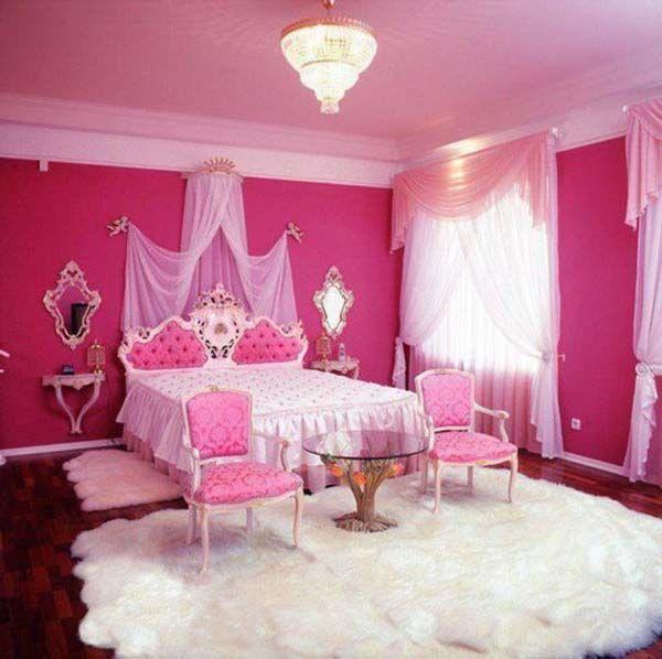 50 Cute Teenage Girl Bedroom Ideas | Pink Bedrooms, Bedrooms And Pink  Bedroom Decor